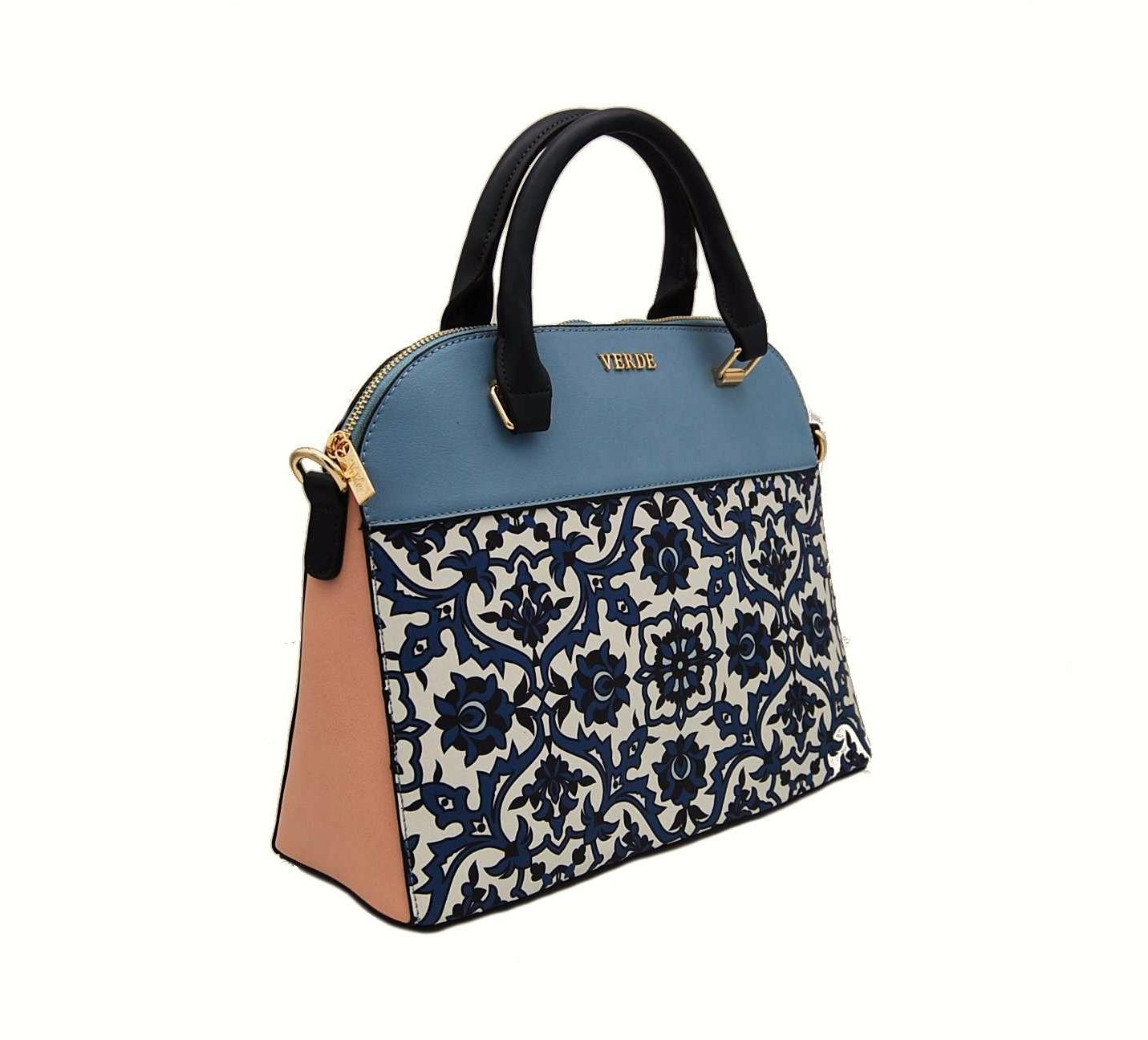 c09c9fa25b Verde τσάντα γυναικεία χιαστί και χεριού μπλε