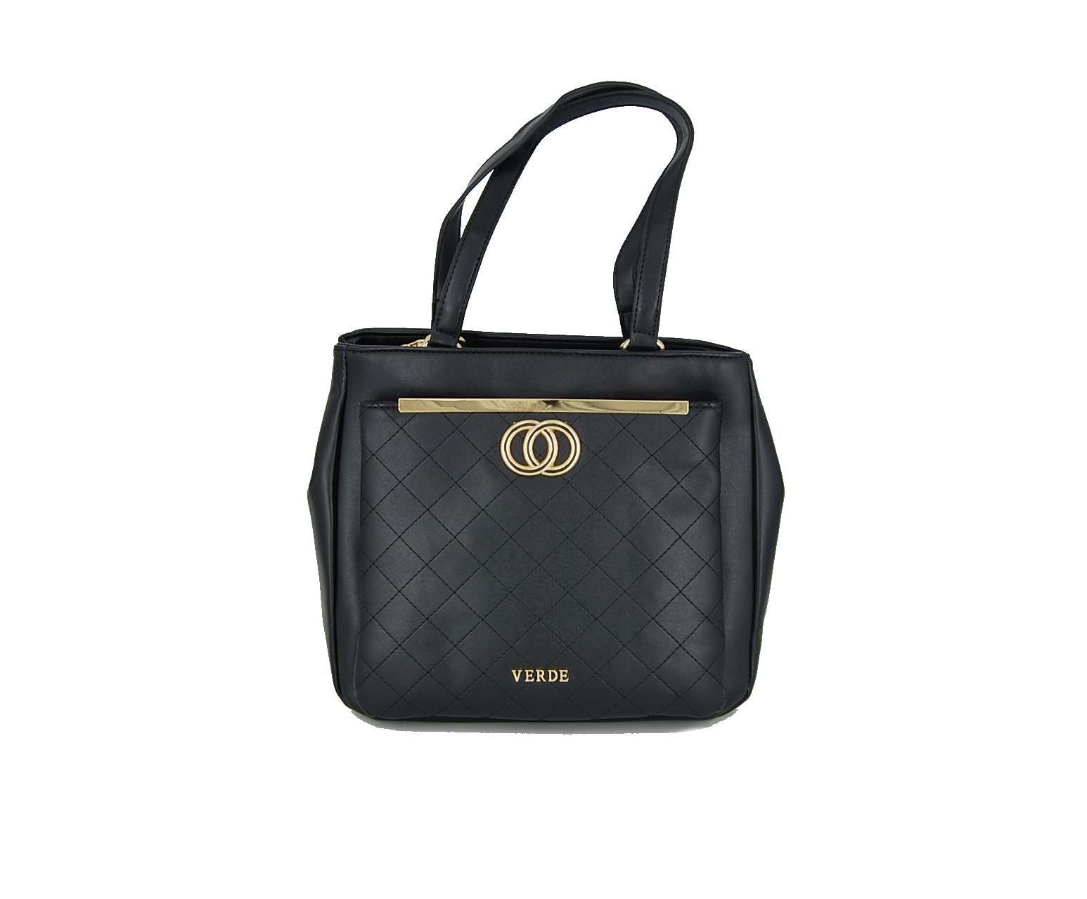 1b795fded5 Verde τσάντα γυναικεία ώμου μαύρη