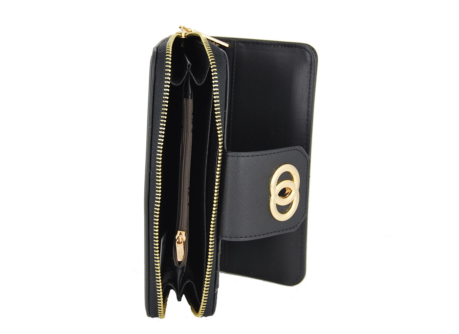 0a8810e159 Verde πορτοφόλι γυναικείο μαύρο