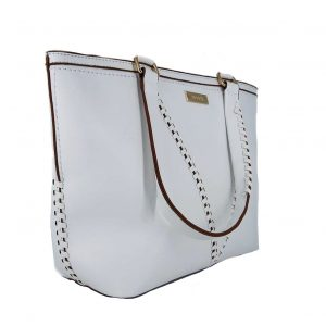 46e5575331 Doca τσάντα ώμου γυναικεία άσπρη ...