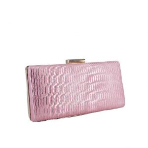 Verde αμπιγιέ βραδινό ροζ τσαντάκι-clutch