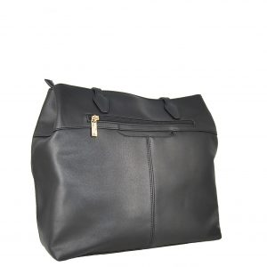 Verde τσάντα ώμου γυναικεία μαύρη