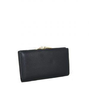 Verde πορτοφόλι γυναικείο μαύρο