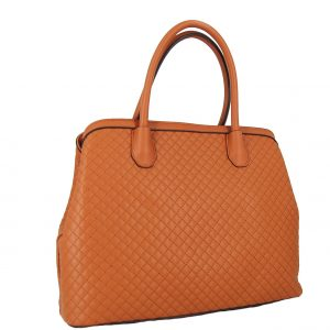Verde τσάντα χεριού και χιαστί γυναικεία καμηλό με 3 κεντρικές θήκες