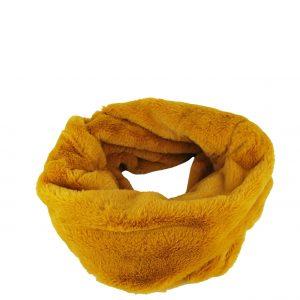 Verde κασκόλ-λαιμός γυναικείο κίτρινο με ιδιαίτερη υφή