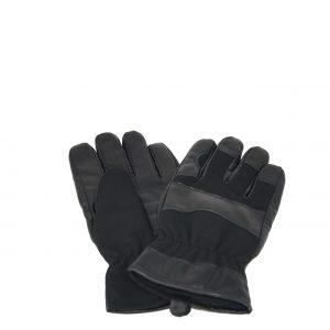 Karfil γάντια ανδρικά μαύρα με εσωτερική επένδυση φλις