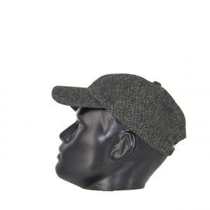 Εισαγωγική ανδρικό καπέλο jockey γκρι