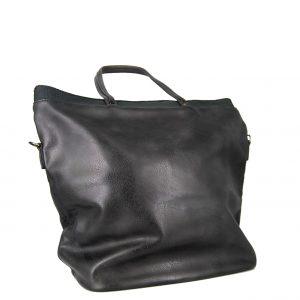 Τσάντα χεριού και ώμου γυναικεία γκρι