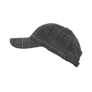 Karfil ανδρικό καπέλο jockey γκρι