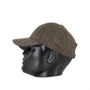 Karfil ανδρικό καπέλο jockey καφέ