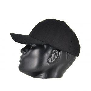 Karfil ανδρικό καπέλο jockey μαύρο