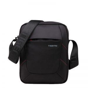 Tigernu τσάντα ταχυδρόμου μαύρο αδιάβροχο T-L5108