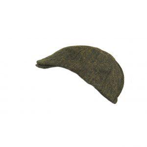 Εισαγωγική ανδρική τραγιάσκα πράσινη ψαροκόκαλο