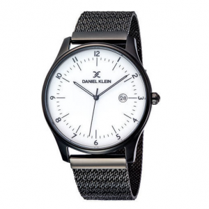 Daniel Klein Premium Black Bracelet Watch 43mm