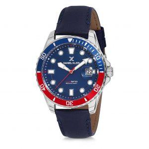 Daniel Klein Premium Blue Analogue Watch 43mm