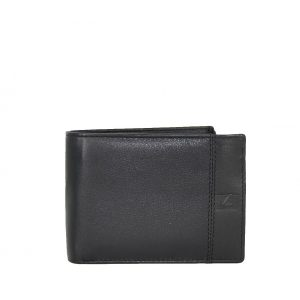 Lavor ανδρικό δερμάτινο πορτοφόλι μαύρο RFID ταυτότητας