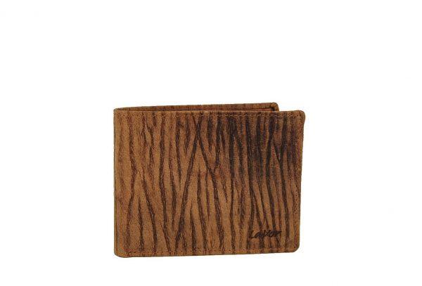 Lavor ανδρικό δερμάτινο πορτοφόλι καφέ RFID