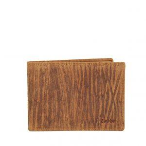 Lavor ανδρικό δερμάτινο πορτοφόλι καφέ RFID ταυτότητας