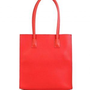 Doca τσάντα ώμου γυναικεία κόκκινη