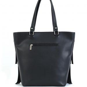 Verde τσάντα γυναικεία ώμου μαύρη