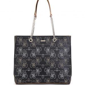 Doca τσάντα ώμου γυναικεία μαύρη