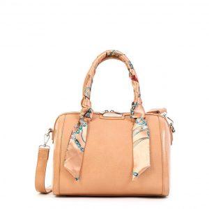 Doca τσάντα ώμου γυναικεία ροζ