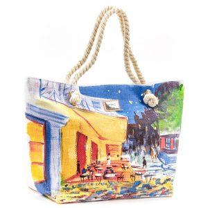Verde τσάντα θαλάσσης γυναικεία