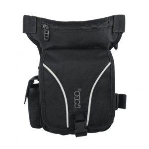 POLO netpack ανδρικό τσαντάκι μέσης/μηρού μαύρο