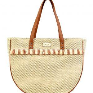 Doca τσάντα θαλάσσης γυναικεία καφέ