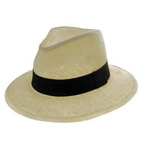 Εισαγωγική ανδρικό καπέλο ψάθινο μπεζ