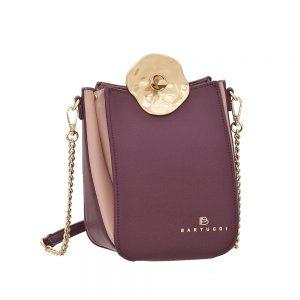 Bartuggi τσάντα χιαστί γυναικεία μπορντό