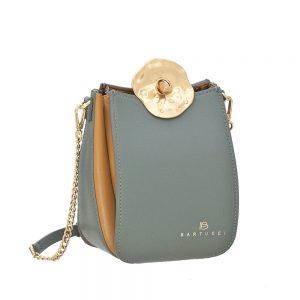 Bartuggi τσάντα χιαστί γυναικεία πράσινη