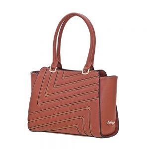 Bartuggi τσάντα ώμου γυναικεία καμηλό
