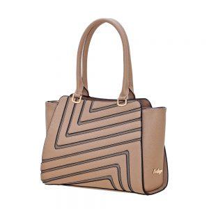 Bartuggi τσάντα ώμου γυναικεία γκρι