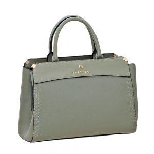 Bartuggi τσάντα ώμου γυναικεία πράσινη