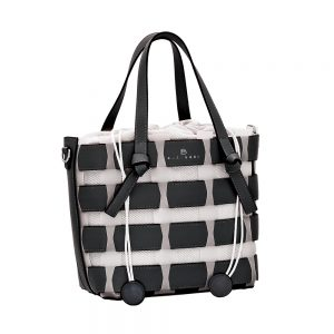 Bartuggi τσάντα ώμου γυναικεία μαύρη