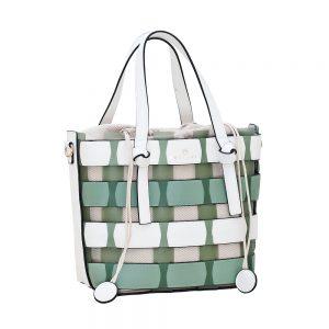 Bartuggi τσάντα ώμου γυναικεία πράσινο