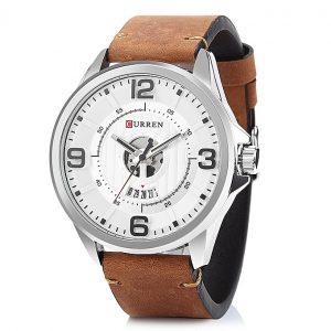 Ανδρικό Ρολόι Curren 8305 καφέ