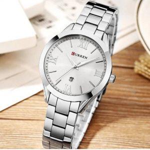 Curren Γυναικείο Ρολόι 9007 ασημί