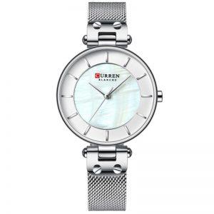 Curren Γυναικείο Ρολόι 9056 ασημί