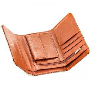 Verde πορτοφόλι γυναικείο καμηλό