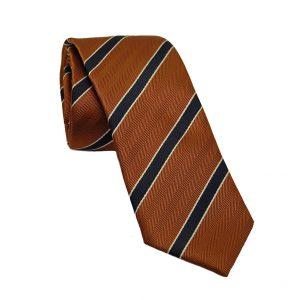 Ανδρική γραβάτα κεραμιδή