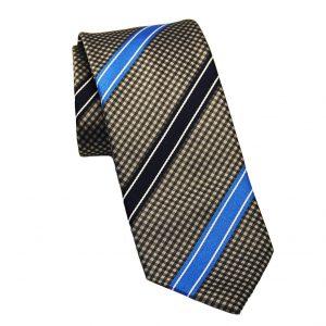 Ανδρική μεταξωτή γραβάτα γκρι