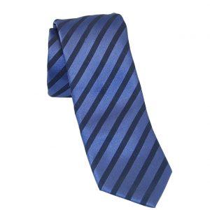 Ανδρική μεταξωτή γραβάτα μπλε
