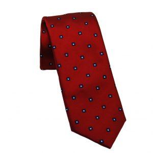 Ανδρική μεταξωτή γραβάτα κόκκινη