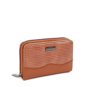 Doca γυναικείο πορτοφόλι καμηλό