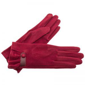 Verde γυναικεία γάντια one size μπορντό 02-594