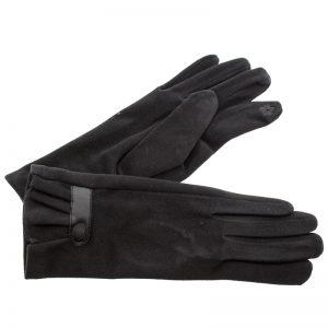 Verde γυναικεία γάντια one size μαύρο 02-594