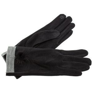 Verde γυναικεία γάντια one size μαύρο 02-595