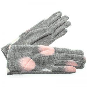 Verde γυναικεία γάντια one size γκρι 02-604